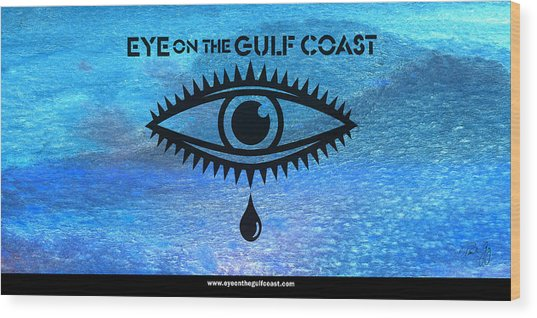 Eye On The Gulf Coast Wood Print