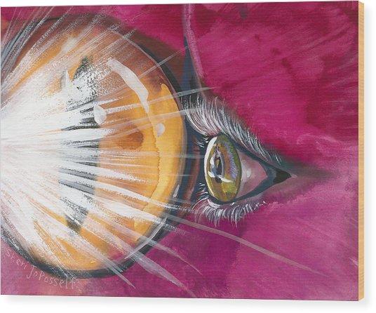 Eyelights Wood Print