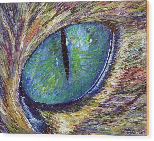 Eyenstein Wood Print