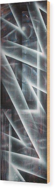 Eyes Wood Print by Leigh Odom