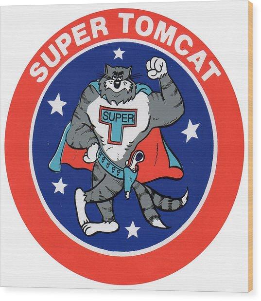 F-14 Super Tomcat Wood Print