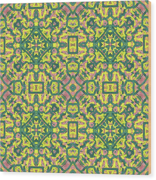 F R I - Multi Pattern Wood Print