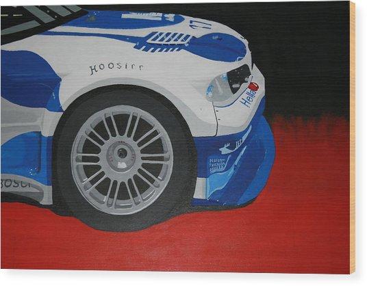 F1 Boston Bmw Wood Print by Ryan Flanagan
