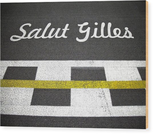 F1 Circuit Gilles Villeneuve - Montreal Wood Print