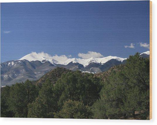 Faawinter002 Wood Print