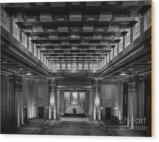 Fabulous Fox Theater Atlanta Egyptian Ballroom Wood Print