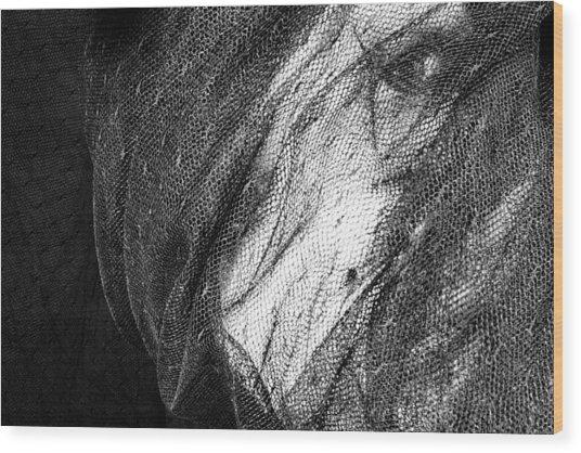 Faces No. 2 Wood Print