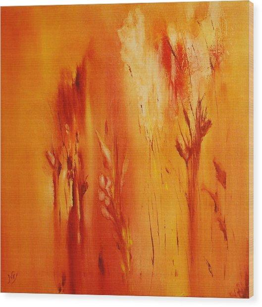 Faded Glory Wood Print by Larry Ney  II