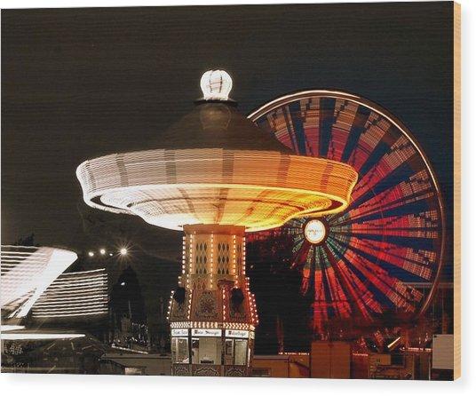 Fair Fun Wood Print by Scott Gould