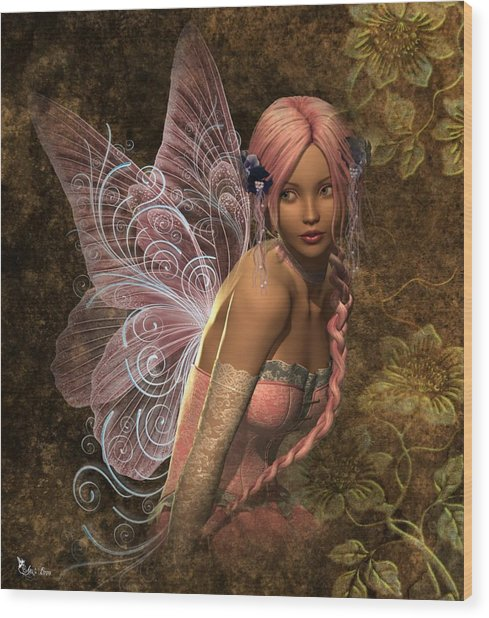 Fairy Lite  Wood Print