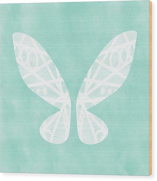 Fairy Wings- Art By Linda Woods Wood Print