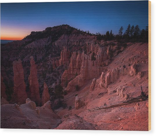 Fairyland Canyon Wood Print