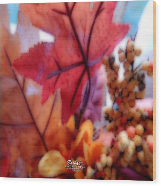 Fall Colors # 6059 Wood Print
