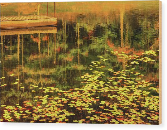 Fall Impressions Wood Print