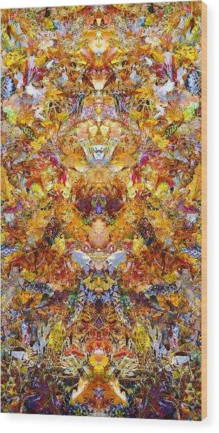 Fall Of The Leaf Gods  Wood Print