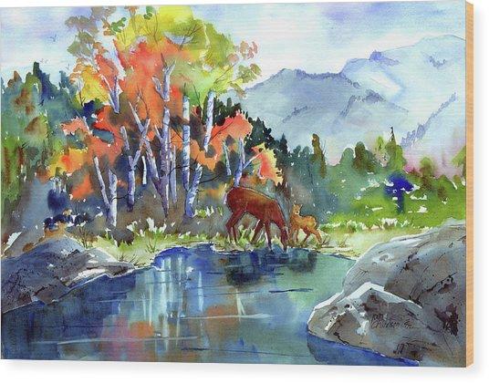 Fall, Upon Us Wood Print