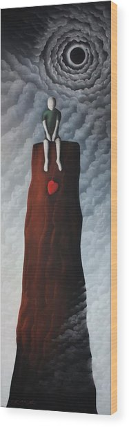 Falling For You Wood Print