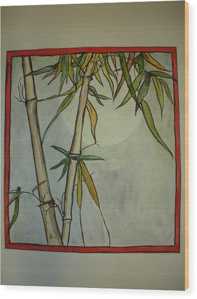 Fanciful Bamboo Wood Print