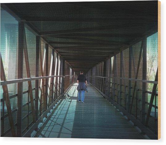 Fantasy Bridge Wood Print