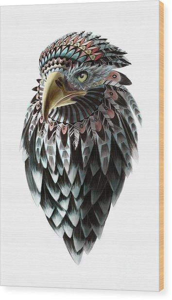 Fantasy Eagle Wood Print