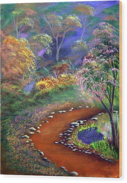 Fantasy Path Wood Print