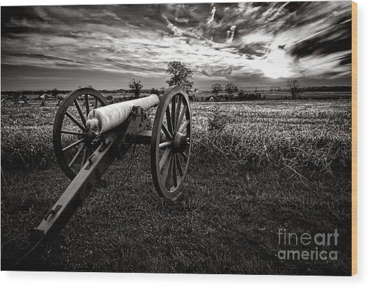 Farewell To Gettysburg Wood Print