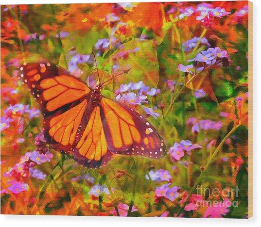 Farfalla 2015 Wood Print