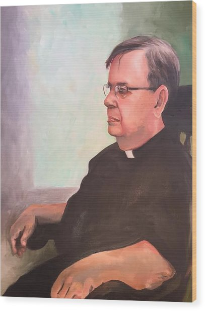 Father Ed Wood Print