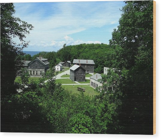 Fayette Historic State Park Wood Print