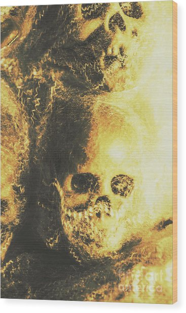 Fear Of The Capture Wood Print