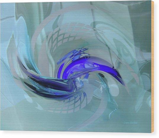 Feeling Tiffany Blue Wood Print