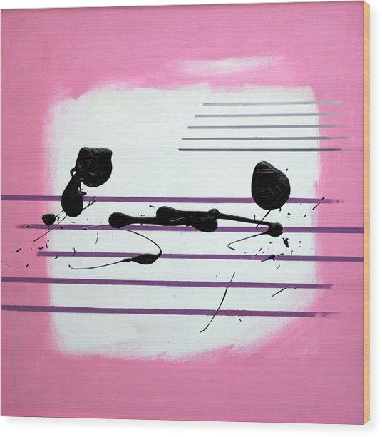 Feelings Wood Print by Mario Zampedroni