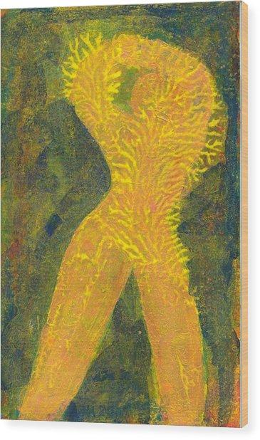 Feelings Of Good Tomorrows Wood Print by Jerry Hanks