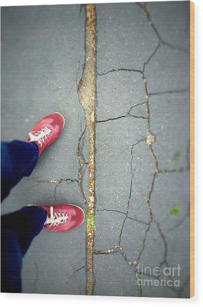 Feet Around The World #25 Wood Print