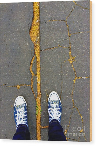 Feet Around The World #26 Wood Print