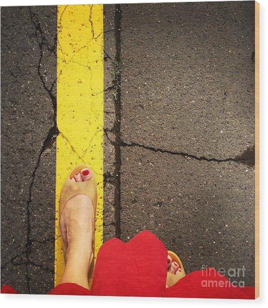 Feet Around The World #27 Wood Print