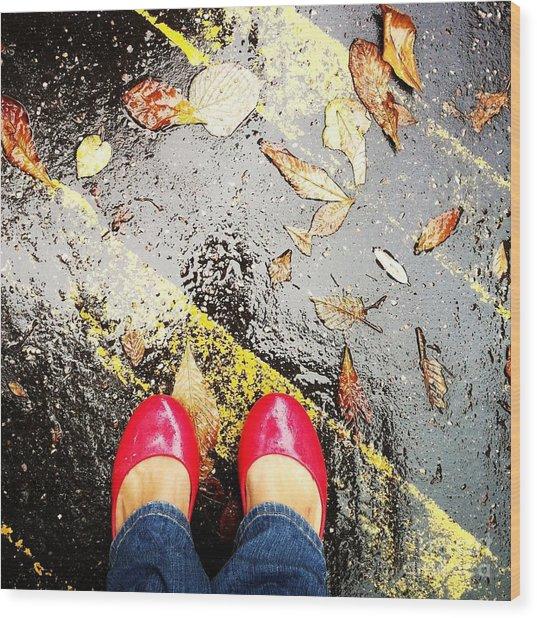 Feet Around The World #29 Wood Print