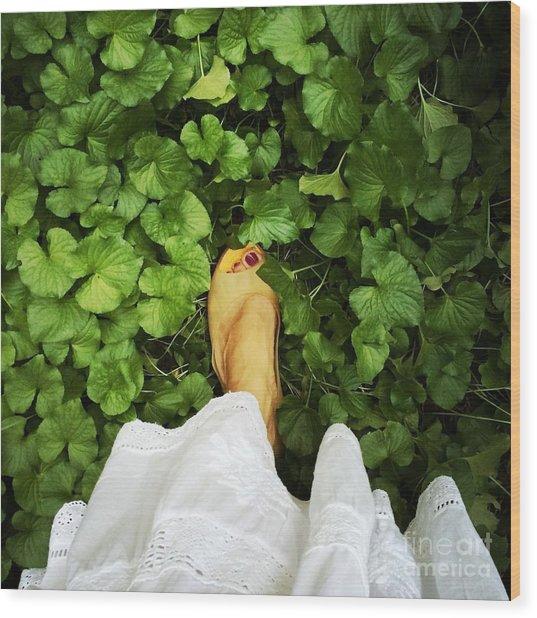 Feet Around The World #3 Wood Print