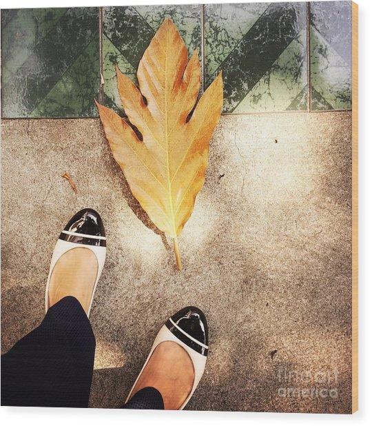 Feet Around The World #30 Wood Print