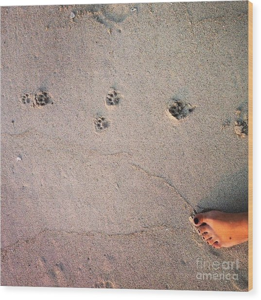 Feet Around The World #31 Wood Print
