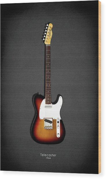 Fender Telecaster 64 Wood Print