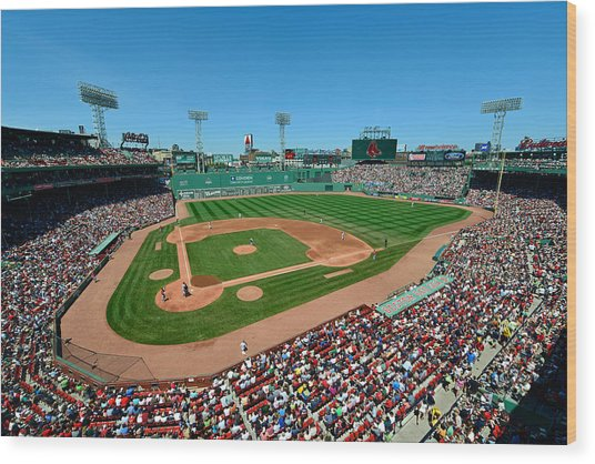 Fenway Park - Boston Red Sox Wood Print