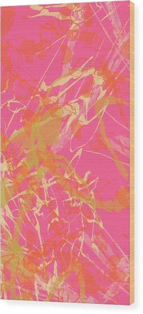 Fern Palette Painting #1 Wood Print
