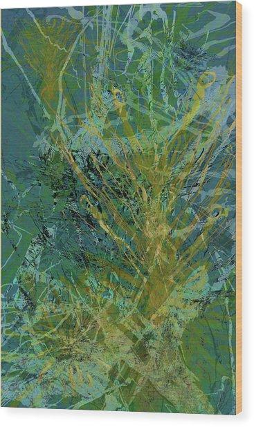 Fern Series 36 Wood Print