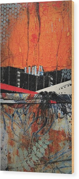 Fern Valley  Wood Print