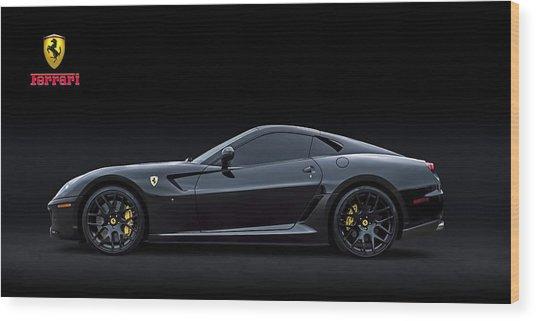 Ferrari 599 Gtb Fiorano Wood Print