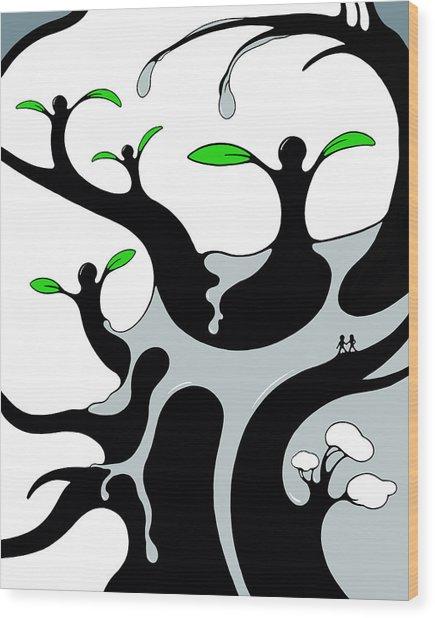 Fertility Wood Print