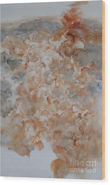 Festering  No02 Wood Print by Gongwei