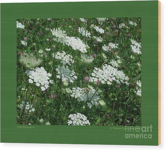Field Bouquet-iv Wood Print