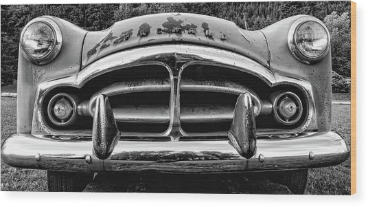 Fifty-one Packard Wood Print